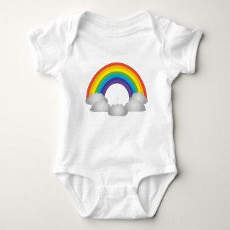 Rainbow Cartoon Baby Bodysuit