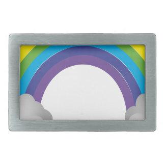 Rainbow Cartoon Belt Buckles