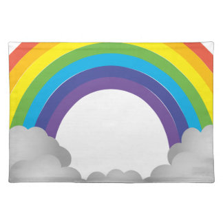 Rainbow Cartoon Placemat