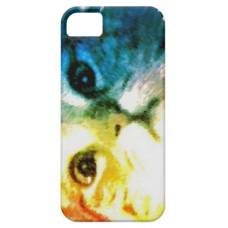Rainbow Cat Face iPhone 5 Case