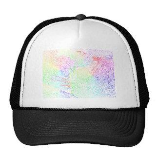 Rainbow Cat Fur Trucker Hat
