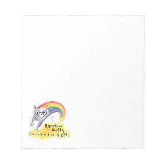 Rainbow Cat Notepad