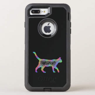 Rainbow cat OtterBox defender iPhone 8 plus/7 plus case