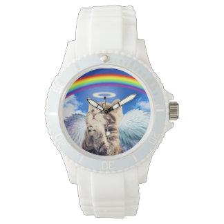 rainbow cat wrist watches