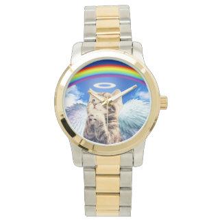 rainbow cat wristwatches