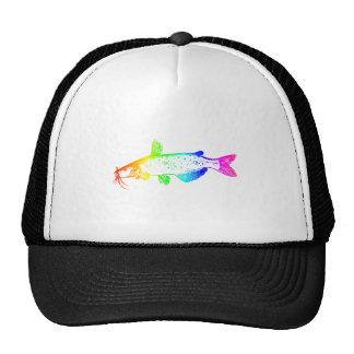 Rainbow Catfish Trucker Hat