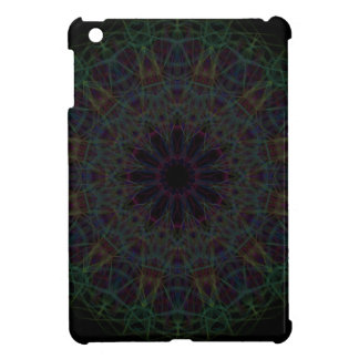 Rainbow Cathedral Mandala iPad Mini Covers