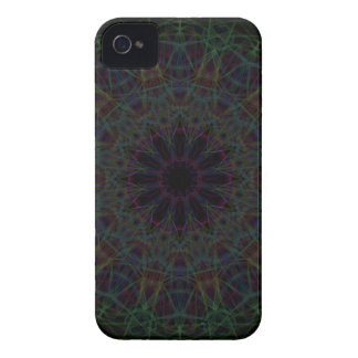 Rainbow Cathedral Mandala iPhone 4 Covers