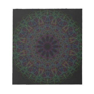Rainbow Cathedral Mandala Notepad