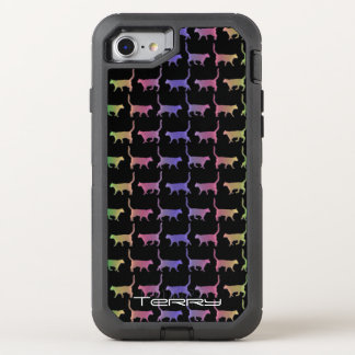 Rainbow Cats Otterbox iPhone OtterBox Defender iPhone 7 Case