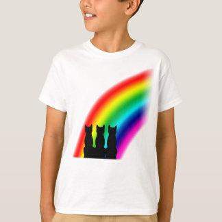 Rainbow cats t shirts
