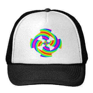 Rainbow Celtic Cross Trucker Hat