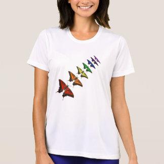 Rainbow Chakra butterflies T-Shirt