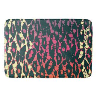Rainbow Cheetah Bath Mat