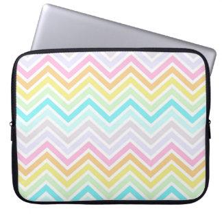 "Rainbow Chevron 15"" Laptop Sleeve"