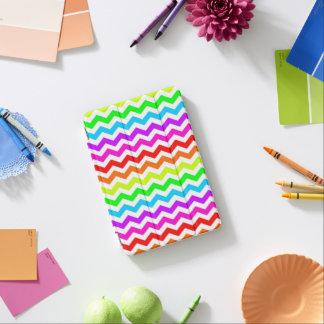 Rainbow chevron iPad mini cover