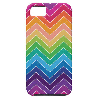 Rainbow Chevron Pattern Modern gifts iPhone 5 Cover
