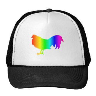 Rainbow Chicken 2 Trucker Hat