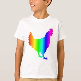 Rainbow Chicken T-Shirt