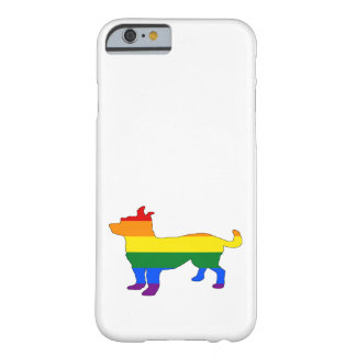 Rainbow Chihuahua Barely There iPhone 6 Case