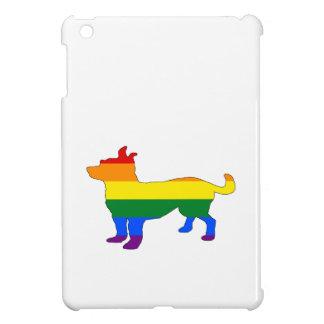 Rainbow Chihuahua Cover For The iPad Mini