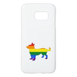 Rainbow Chihuahua Samsung Galaxy S7 Case