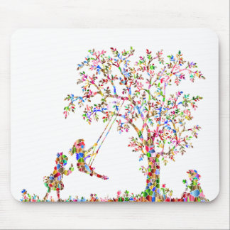 Rainbow Children Mouse Pad