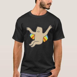 Rainbow Chimp Men's Basic Dark T-Shirt