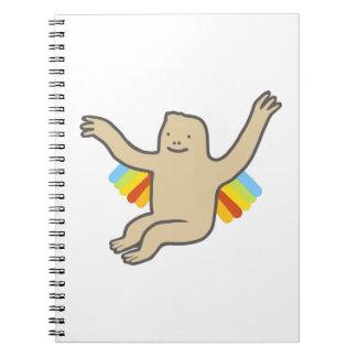 Rainbow Chimp Notebook
