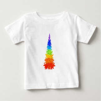 Rainbow Christmas Tree Baby T-Shirt