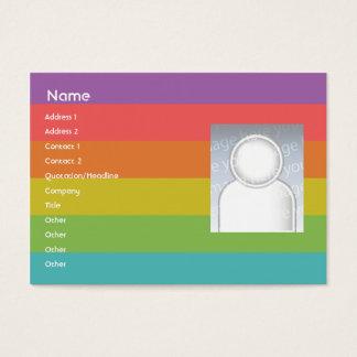 Rainbow - Chubby Business Card