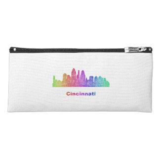 Rainbow Cincinnati skyline Pencil Case