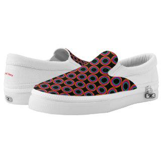 Rainbow circles Slip-On sneakers