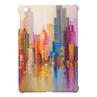 Rainbow city iPad mini case