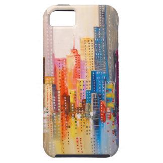 Rainbow city iPhone 5 cover