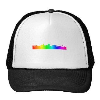 Rainbow City Trucker Hat
