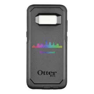 Rainbow Cleveland skyline OtterBox Commuter Samsung Galaxy S8 Case