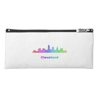 Rainbow Cleveland skyline Pencil Case