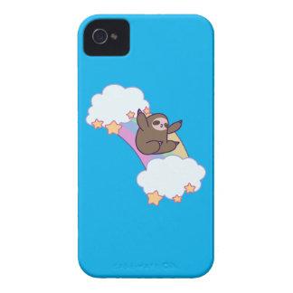 Rainbow Cloud Sloth iPhone 4 Cover