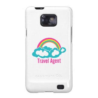 Rainbow Cloud Travel Agent Samsung Galaxy SII Cases