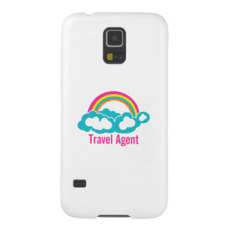 Rainbow Cloud Travel Agent Cases For Galaxy S5