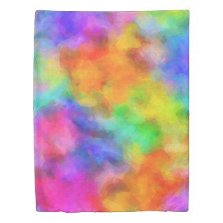 Rainbow Clouds Duvet Cover