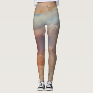 Rainbow Clouds Sky Women's Leggings