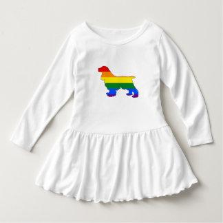 Rainbow Cocker Spaniel Dress