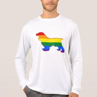 Rainbow Cocker Spaniel T-Shirt