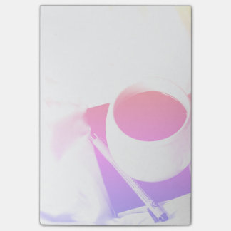 Rainbow Coffee Cup Breakfast in Bed Tea Post-it Notes