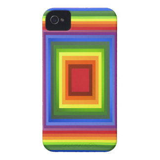 Rainbow Color Abstract Art Case-Mate iPhone 4 Cases