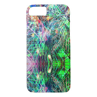 Rainbow Color Abstract Pattern Case-Mate iPhone Case