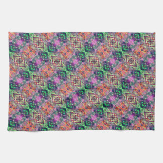 Rainbow Color Abstract Pattern Kitchen Towel