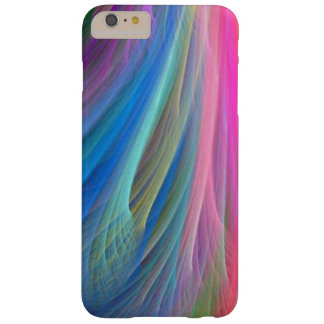 Rainbow Color Feather Design Barely There iPhone 6 Plus Case
